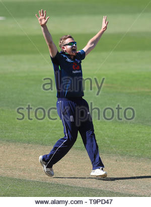 File photo dated 02-07-2018 of England's Liam Dawson. - Stock Image