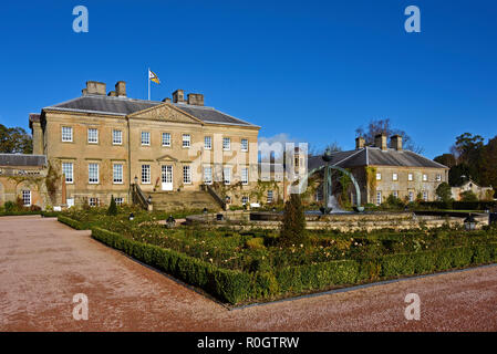 South facade, Dumfries House, Cumnock, East Ayrshire, Scotland, United Kingdom, Europe. - Stock Image