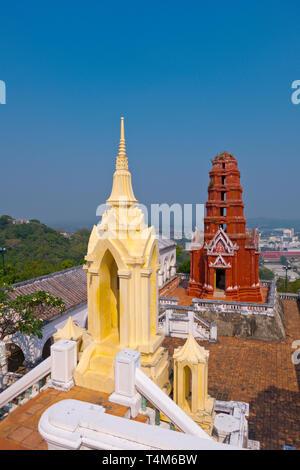 Wat Phra Kaew Noi, Phra Nakhon Khiri Historical Park, Phetchaburi, Thailand - Stock Image