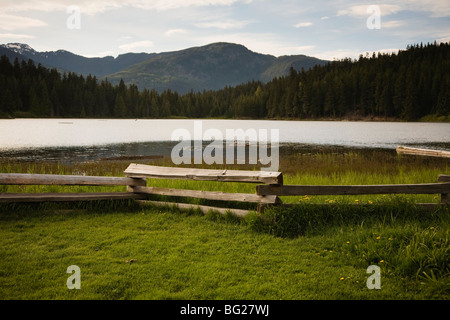Lost Lake, Whistler, British Columbia, Canada - Stock Image