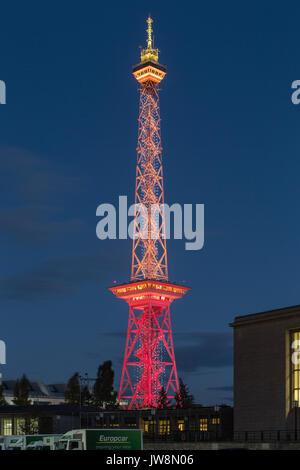 Funkturm Berlin - Stock Image