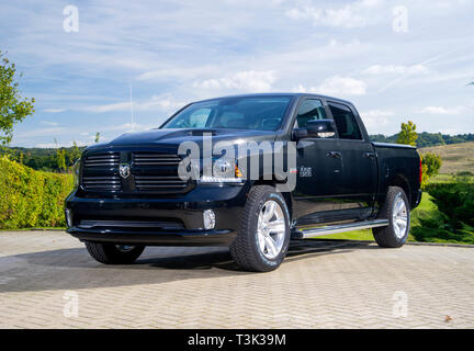 2015 Dodge Ram 1500 American pick up truck - Stock Image