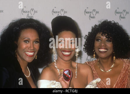 POINTER SISTERS US vocal trio in 1991 at the American Music Awards. Photo: Jeffrey Mayer - Stock Image