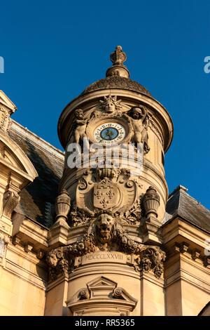 Château de Chantilly, Oise, France - Stock Image