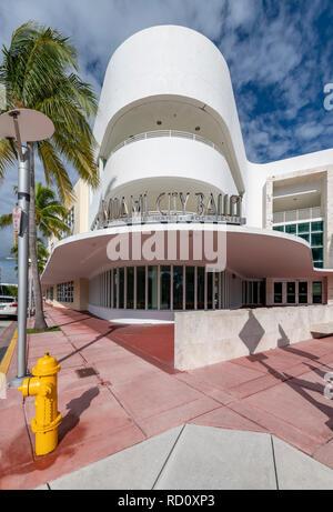 Miami City Ballet, Miami Beach, Florida, USA - Stock Image