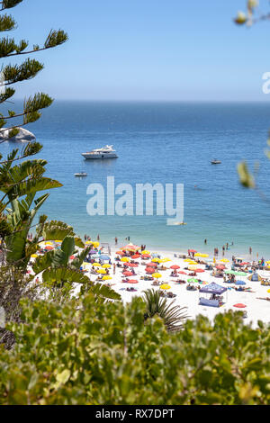 Clifton Beach Fourth in Cape Town, South Africa - Stock Image