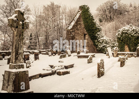 St Machans, Campsie Parish Church, Clachan of Campsie, Scotland - Stock Image
