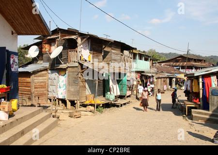 Andasibe Village, Toamasina Province, Madagascar, Africa - Stock Image