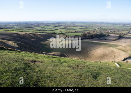 White Horse Hill - Stock Image