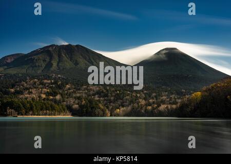 Lake Onneto, Akan National Park, Hokkaido Japan - Stock Image