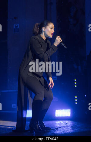 London, UK, 29th Jan, 2015. Jessie Ware, o2 Academy Brixton. Credit:  Robert Stainforth/Alamy Live News - Stock Image