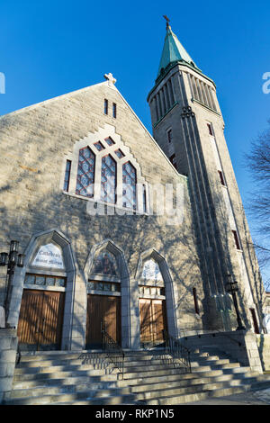 St Maron Cathedral, Montreal, province of Quebec, Canada. - Stock Image