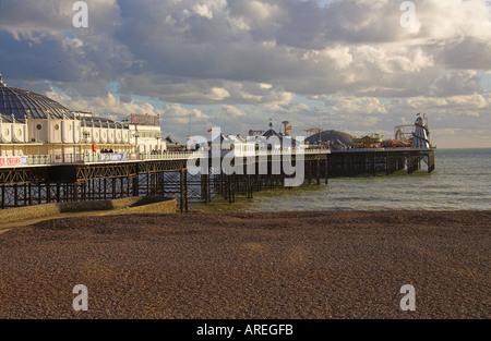 Brighton Pier, Sussex, England, UK - Stock Image