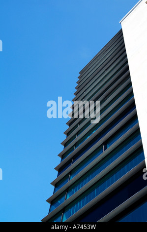 property investment blue sky - Stock Image