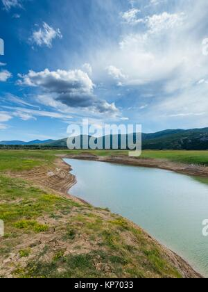 Prolosko blato lake near Imotski in Croatia - Stock Image