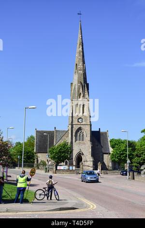 Invergordon Church of Scotland, Castle Road, Invergordon, Highland, Scotland, United Kingdom - Stock Image