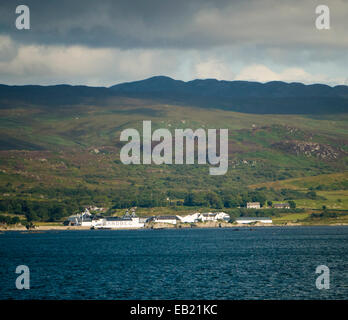 Ardbeg distillery Islay Scotland - Stock Image