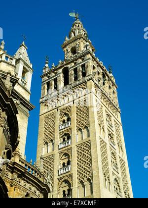 The Giralda in Seville - Stock Image