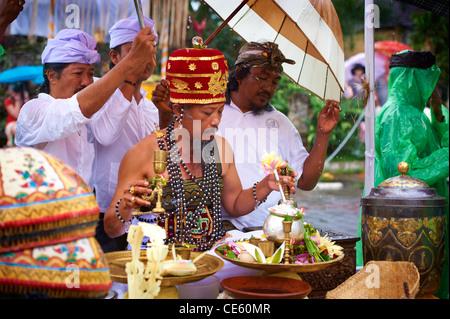 Bali Royal Cremation Ceremony - Stock Image
