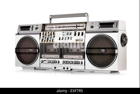 A cut out shot of Ghetto blaster - Stock Image