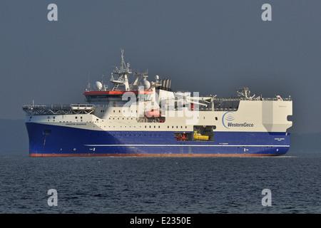 Research-/Survey-vessel Amazon Warrior - Stock Image