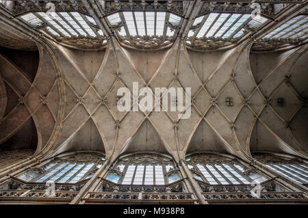 St. Vitus Cathedral, Prague - Stock Image