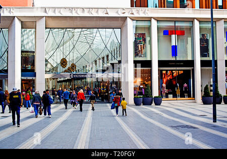 Victoria Gate Shopping Mall ,Leeds, England - Stock Image