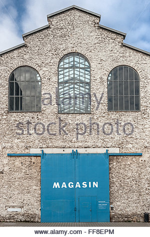 Le Magasin - Centre national d'art contemporain (CNAC) in Grenoble (France) - Stock Image