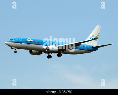 PH-BXW KLM Royal Dutch Airlines Boeing 737-8K2(WL) - cn 30360 2 - Stock Image