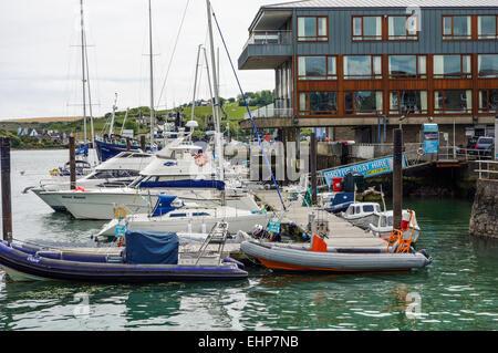 Kinsale marina. Ireland. - Stock Image