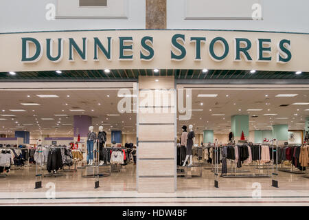 Dunnes Stores, an Irish based shop in Coín, Costa del Sol, Spain. - Stock Image
