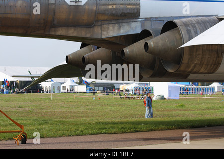 Tupolev Tu-144 at the MAKS-2013 - Stock Image