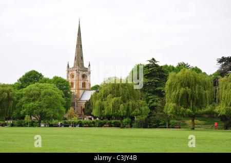 Holy Trinity Church, Stratford upon Avon, Warwickshire - Stock Image