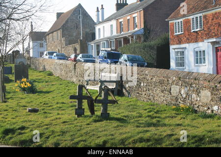 St. Thomas Church in Winchelsea, East Sussex, England, UK - Stock Image