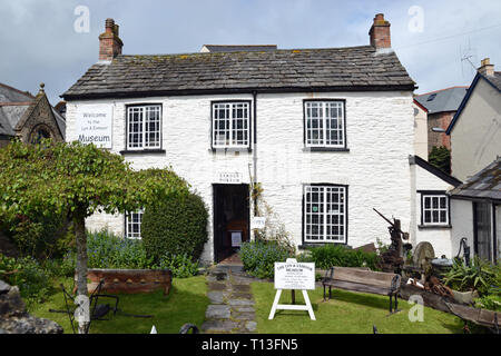 Lyn and Exmoor Museum, Devon, UK - Stock Image