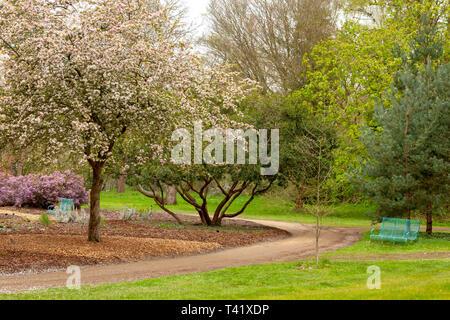RHS Wisley gardens at Woking in Surrey, England - Stock Image