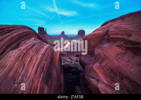 Monument Valley, Arizona, United States of America, North America - Stock Image