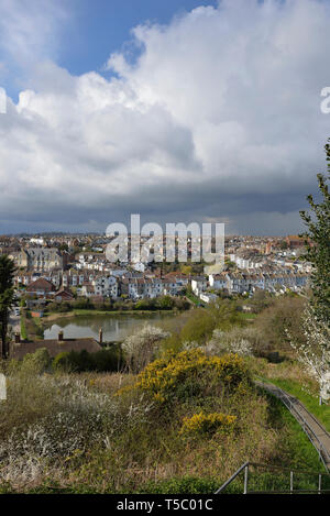 The Clive Vale area of Hastings, East Sussex, England, UK - Stock Image