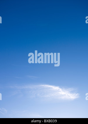 Blue sky & cloud - Stock Image