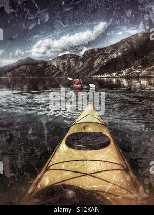 Kayak - Stock Image