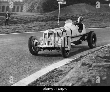 ERA. Arthur Dobson, Coronration Trophy Race. Crystal Palace Road racing circuit. 2 April 1938 - Stock Image