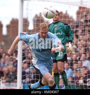 Footballer Steve Staunton Coventry City v Wolverhampton Wanderers at Highfield Road 16/4/05 - Stock Image