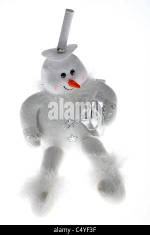 Snowman Christmas - Stock Image