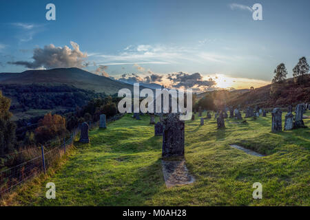 Cille Choirill is a 15th-century Roman Catholic church situated in Glean Spean in Lochaber, Scotland. Dedicated - Stock Image