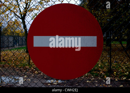 No Entry - Stock Image