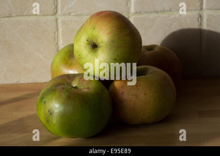 Cooking apples - Stock Image