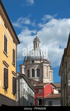 Dome of Basilica di Sant Andrea, Mantova, Lombardy, Italy - Stock Image
