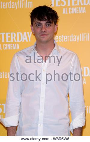 Alessandro Casillo milano, 13-07-2019 - Stock Image