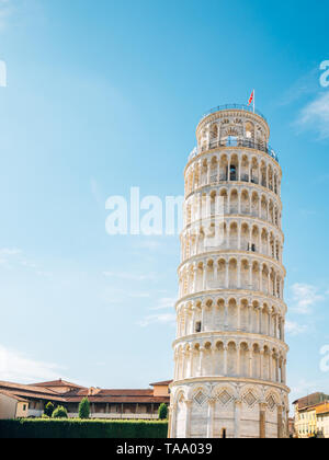 Leaning Tower of Pisa in Italy - Stock Image