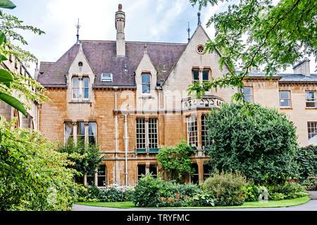 Oxford (England, Great Britain:  Balliol College - Stock Image